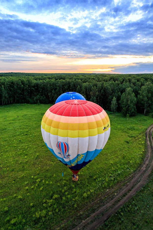 Вид из корзины: «Небесная ярмарка Урала» в Пермском крае