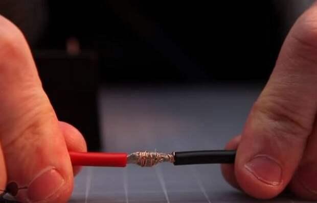 Как соединить провода большого сечения прочно без утолщения скруткой