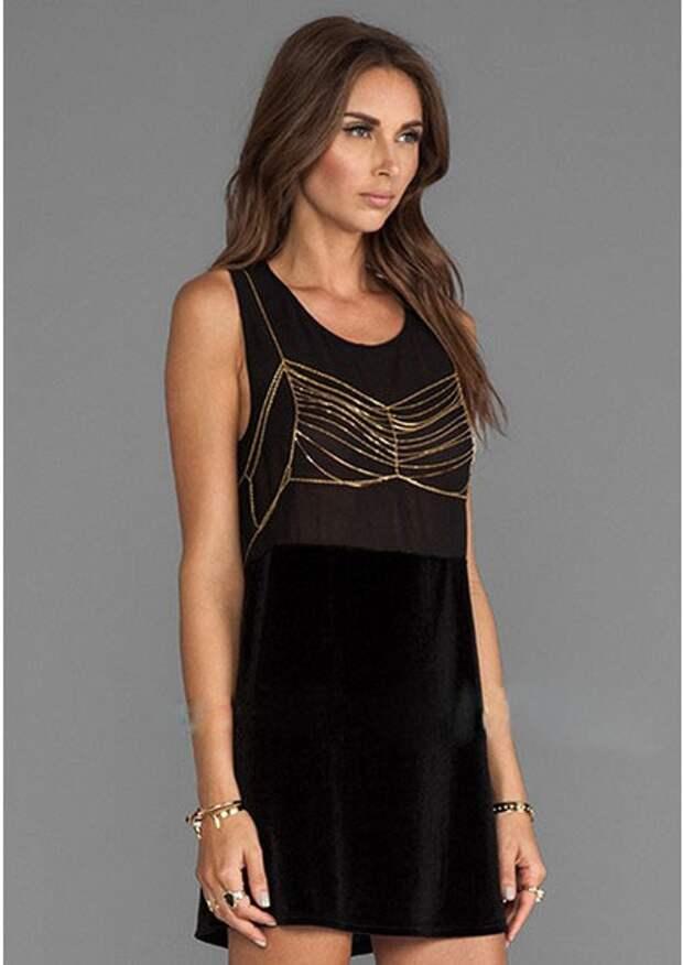 Преображение маленького чёрного платья