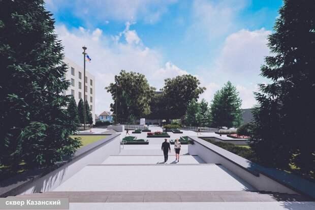 Площадь Ленина в Симферополе отремонтируют до 1 сентября. ФОТО
