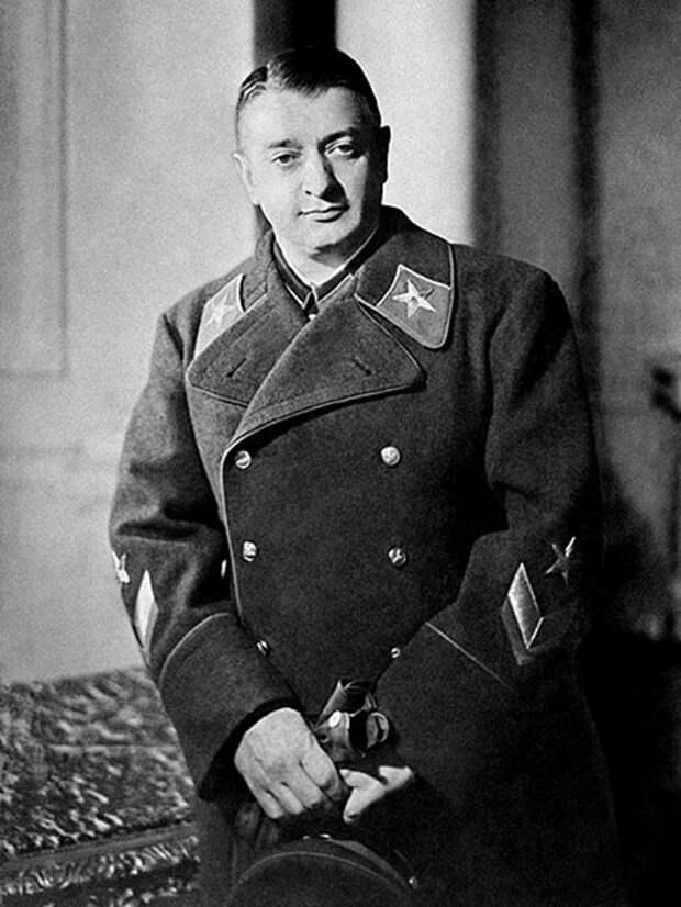 Первый заместитель наркома обороны СССР Маршал Советского Союза Михаил Тухачевский, 1936 год
