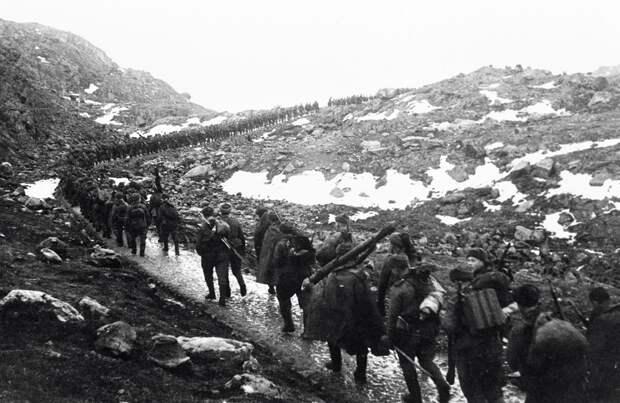 Единственный участок советской границы, от которого немцы так и не смогли попасть вглубь СССР
