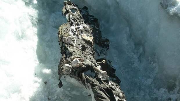 Самые сенсационные находки, когда-либо обнаруженные в ледниках