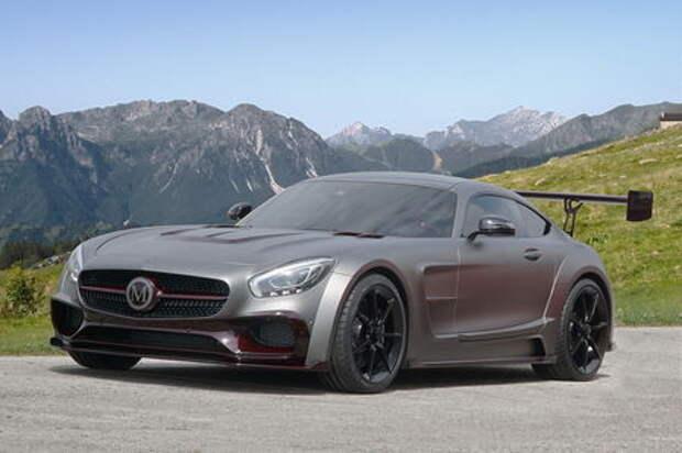 Окрыленный яростью: заряженный Mercedes-AMG GT S рвется в бой