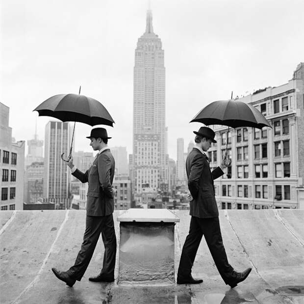 Жители Нью-Йорка в серии фэшн-фотографий
