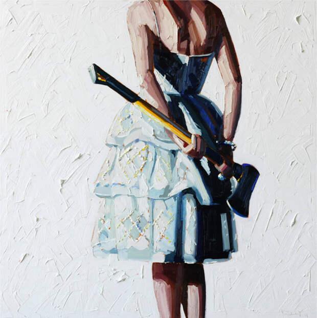 Коктейльные платья и инструменты