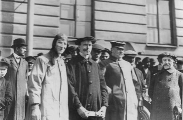 002. Участники пробега. Апрель 1911