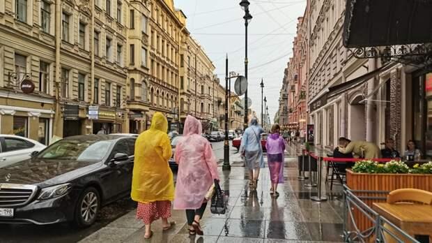 Циклон «Гвидо» принесет в Петербург ливни и сильный ветер 2 августа
