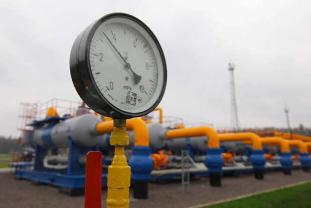 Транзит газа Украина
