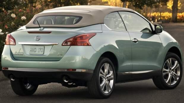 Nissan Murano Cross Cabriolet.