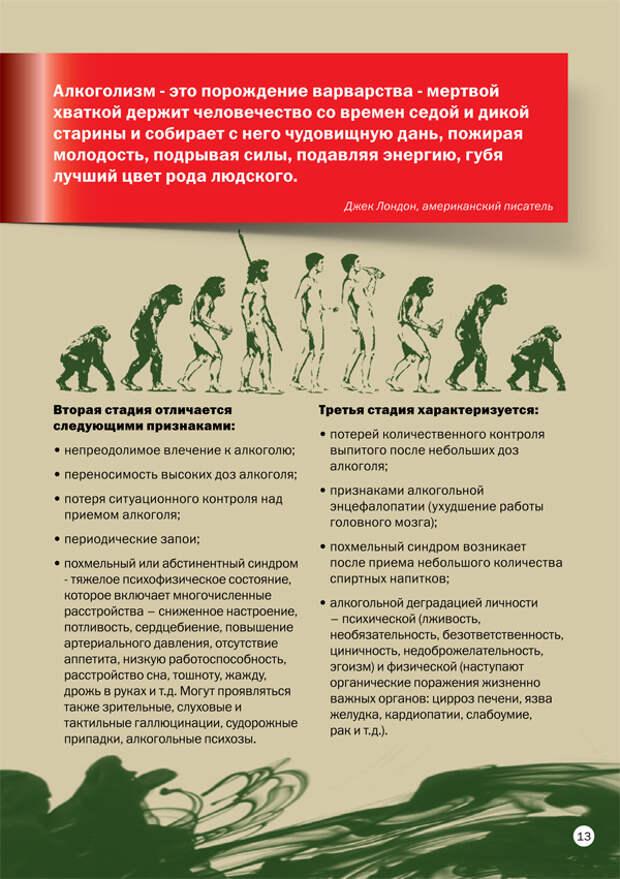 """Брошюра Росалкогольрегулирования """"Не пей!"""""""