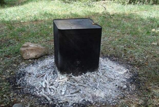 Духовка на костре: оригинальный способ приготовления курицы