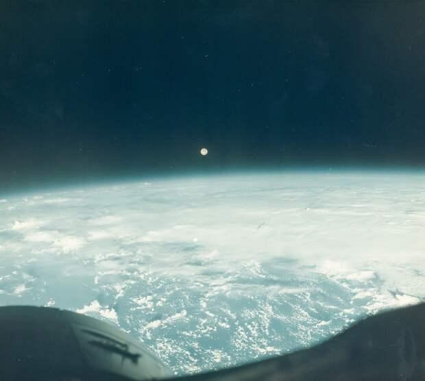 1965, декабрь. Полная Луна над Землей, Джемини-7