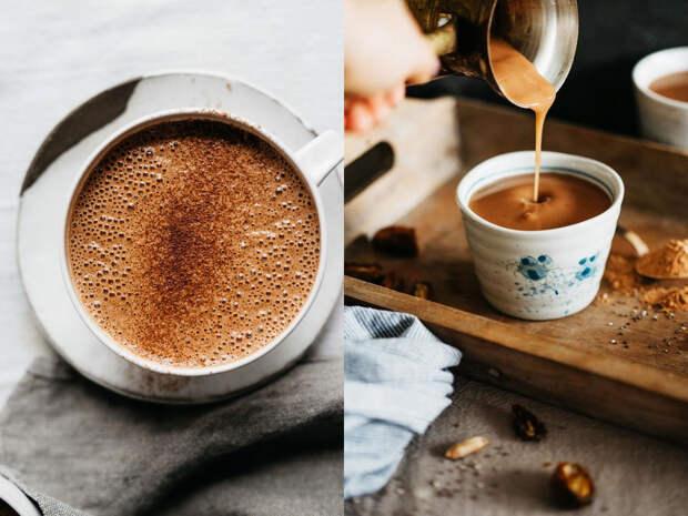 Согревающие зимние напитки: горячий шоколад с чиа