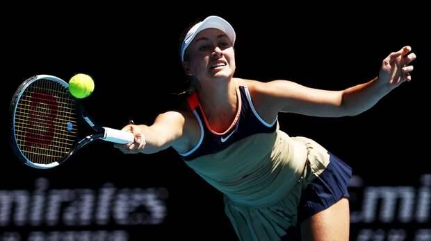Потапова победила Павлюченкову и вышла во 2-й круг турнира в Стамбуле