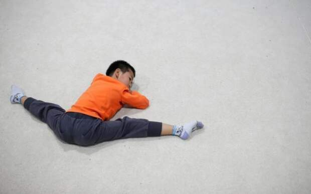 Детские спортивные школы в Китае