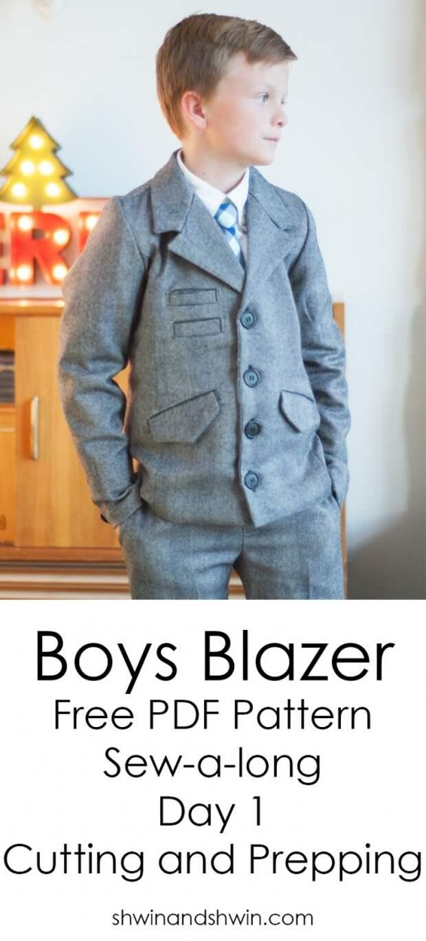 Бесплатная выкройка пиджака детского