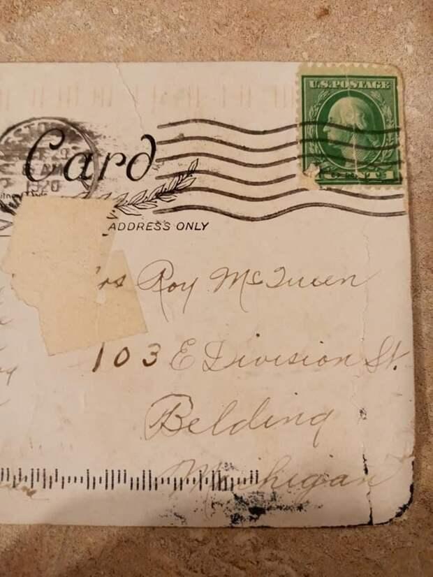 Американка по почте получила открытку столетней давности - Cursorinfo: главные новости Израиля