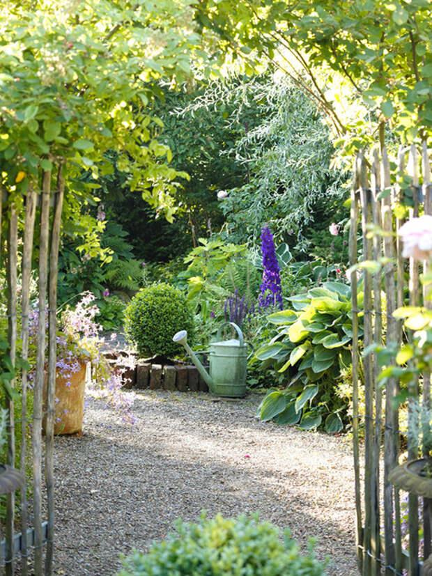 Уютные уголки сада