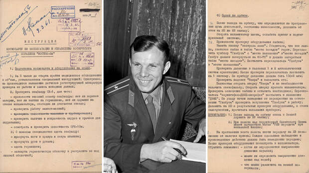 Как садиться в океан: что было в инструкции для Гагарина