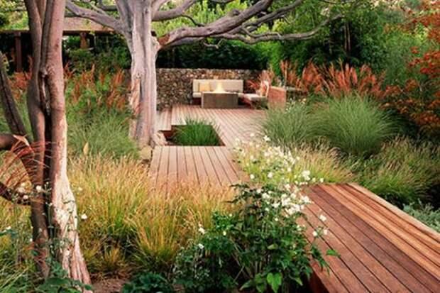 Идеи садовых дорожек - фото 3