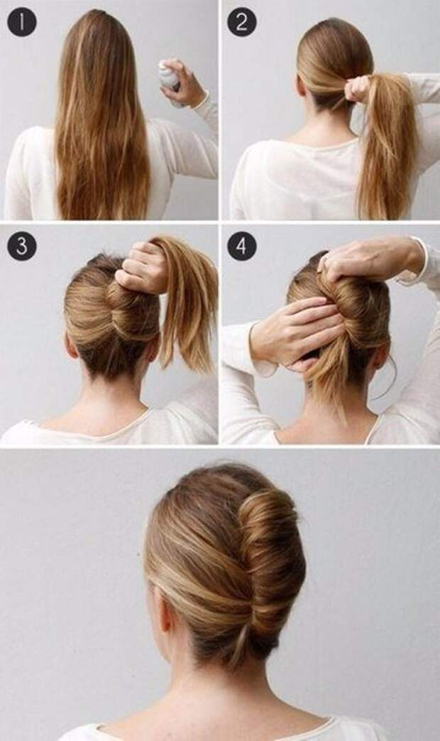 Быстрые причёски для длинных волос