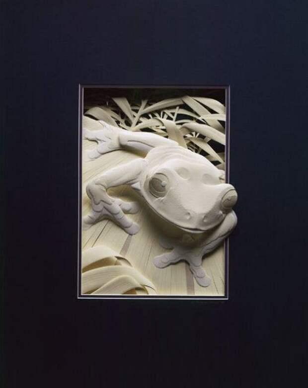3D-поделки из бумаги