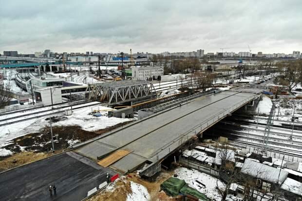 Загрутдинов назвал срок ввода эстакады через МЦК на Пруд Ключиках в Москве