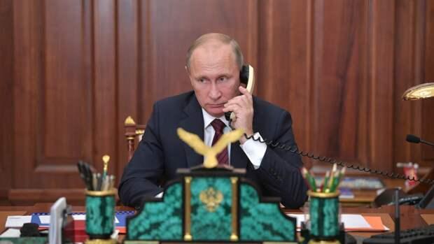 Путин по телефону обсудил с президентом Казахстана выборы в Госдуму