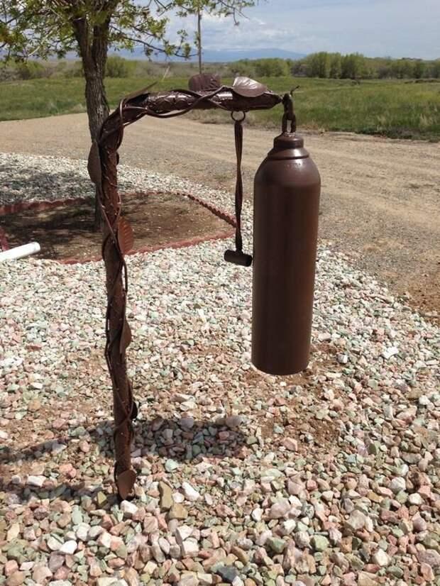 13. А вот и колокол авто, идеи использования, огнетушитель, своими руками, фото