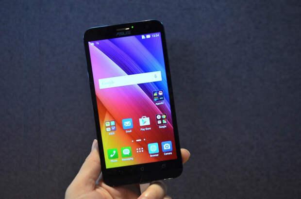 До конца года Asus выпустит смартфон Zenfone 2 с 6-дюймовым экраном