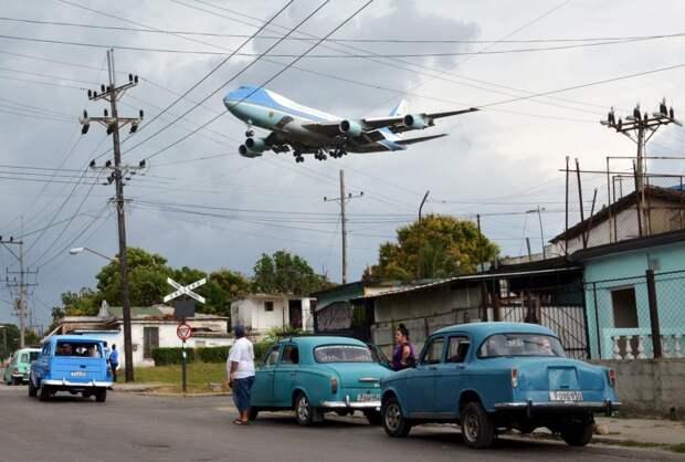 Самолёт президента США Барака Обамы