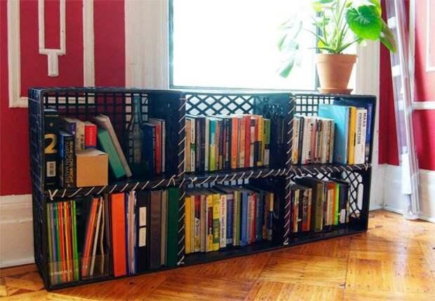 Стелажи для книг и журналов...из ящиков