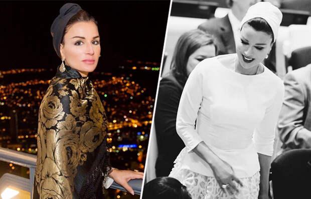 Как дочь оппозиционера стала женой арабского правителя и королевой сердец Востока: Блистательная Шейха Моза