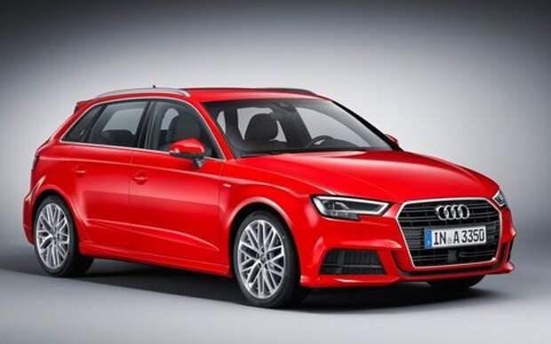Обновленный Audi A3 в России: без трехдверки, кабриолета и дизелей