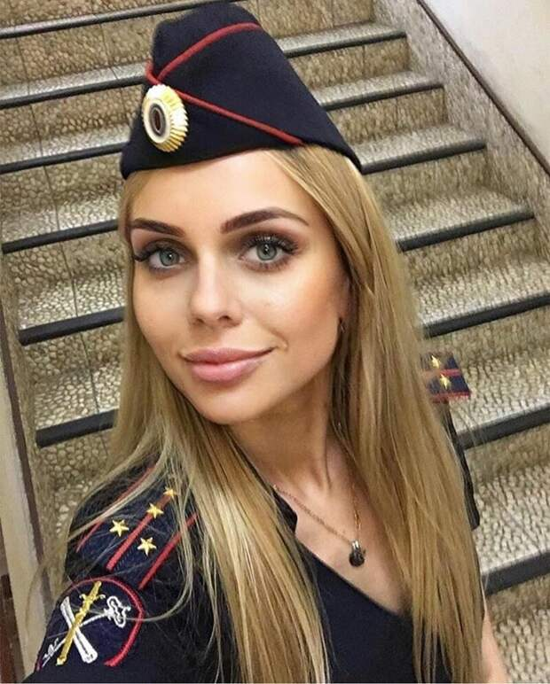 18. девушки, красота, мвд, пилотка, полиция, россия, форма