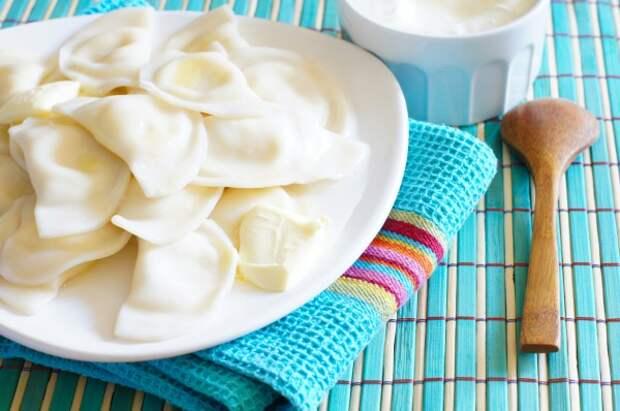 Рецепты по четвергам. Сладкие вареники. Вареники с творогом (В. 1)