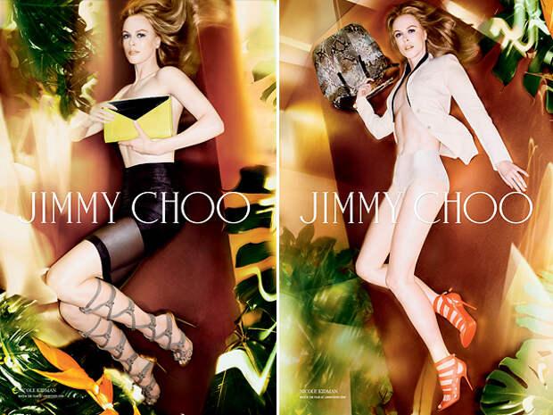 Николь Кидман (Nicole Kidman). Возраст: 46 лет. Кампания: Jimmy Choo.