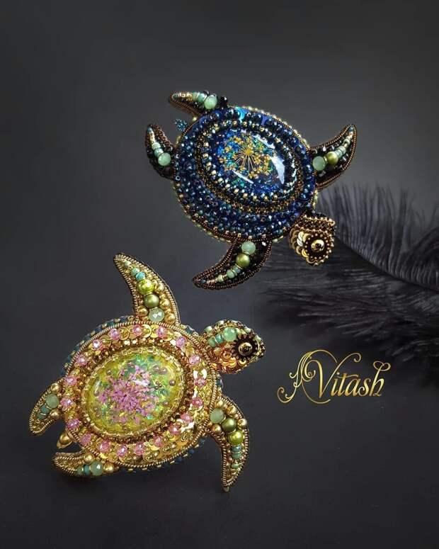 Восхитительные броши от vitash_tatiana