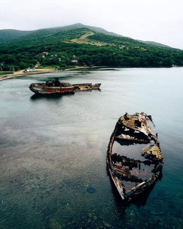 Заброшенные места, где давно не было человека