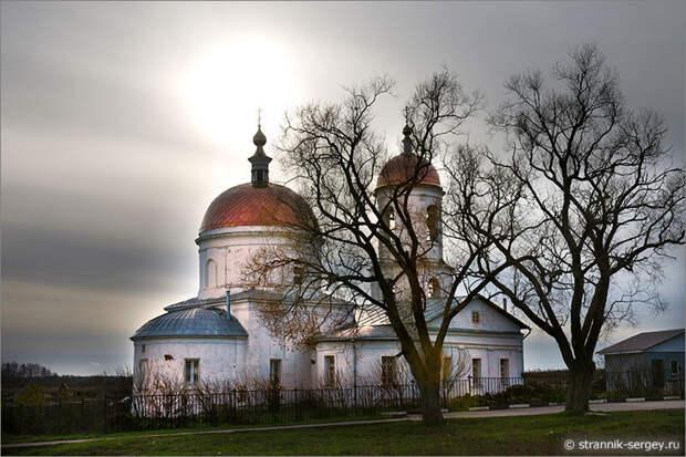 Сатино-Русское — Вознесенский храм