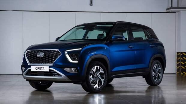 Кроссовер Hyundai Creta получил новую мощную версию в России