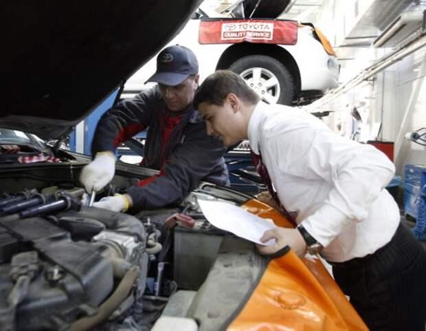 Перед продажей авто владельцев могут заставить посещать техцентры