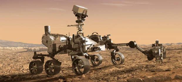 С мыса Канаверал запустили новый марсоход. Он займется поисками следов жизни в прошлом Марса