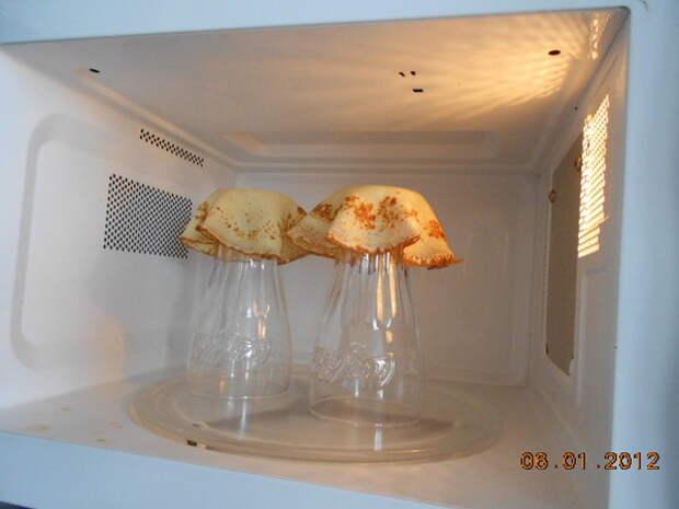 Красивые корзиночки для оформления  салатов.