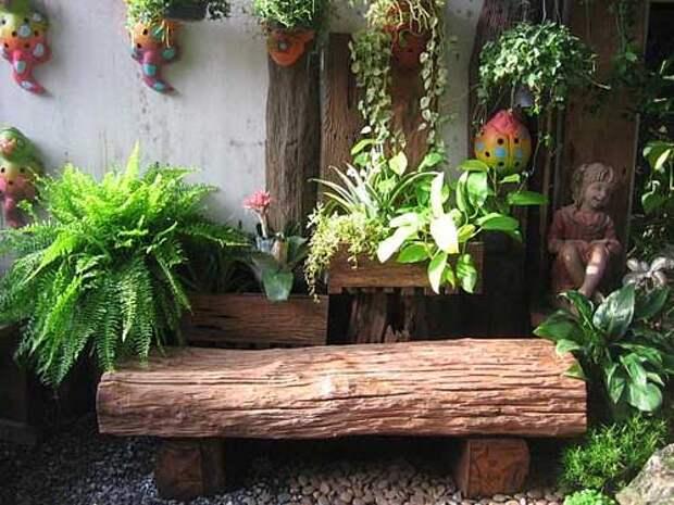 Сделаем садовую мебель сами или купим?