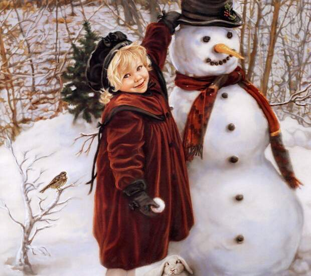 Снеговик. Или Лад с собой да Лад с Миром