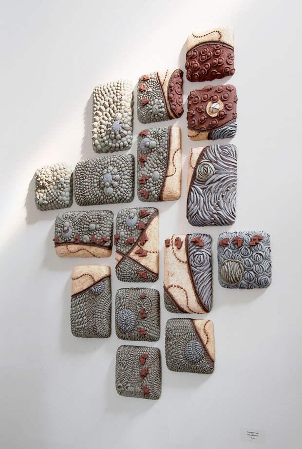 Удивительные керамические панно Bas Relief