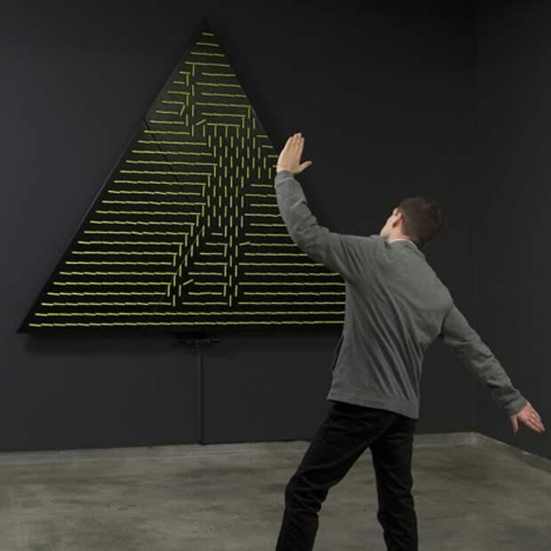 Механические зеркала by Daniel Rozin