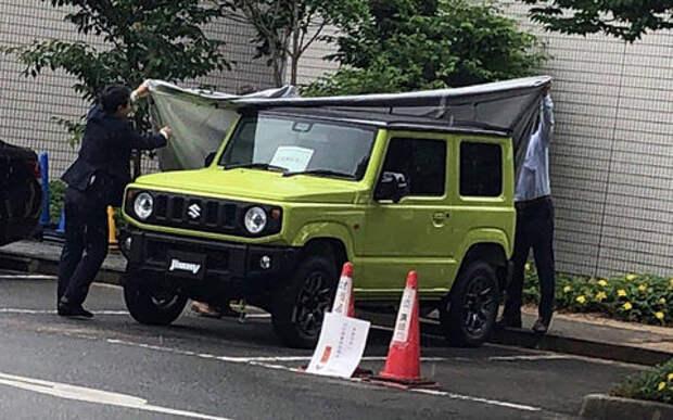 Новый Suzuki Jimny: первые фотографии без камуфляжа